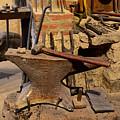 Blacksmith - Anvil And Hammer by Paul Ward