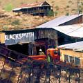 Blacksmith, Ghost Town, Jerome, Az. by Lila Bahl