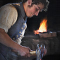 Blacksmith - Pioneer Village by Steve Ohlsen