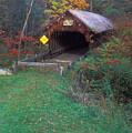 Blacksmith Shop Covered Bridge by John Burk