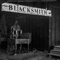Blacksmith Shop by Michele James