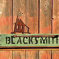 Blacksmith Sign by David Arment