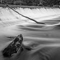 Blackstone River IIi Albion Bw by David Gordon
