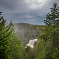 Blackwater Falls In Spring by Michael Donahue
