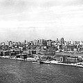 Blackwells Island In Nyc by Underwood Archives