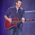 Blake Shelton Guitar 4 by Mike Burgquist
