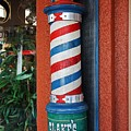 Blake's Barbershop Pole Vector I by Michiale Schneider