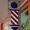 Blake's Barbershop Pole Vector II by Michiale Schneider