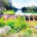 Blanco River by Wendy Biro-Pollard