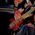 Blazing Guitar by Kathy McCabe