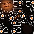 Bleeding Orange And Black - Flyers by Trish Tritz