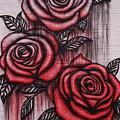 Bleeding Roses by Christopher James