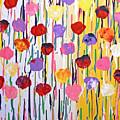 Bleeding Tulips by Jilian Cramb - AMothersFineArt