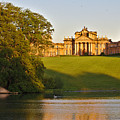 Blenheim Palace And Lake by Jeremy Hayden
