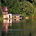 Blenheim Palace Boathouse by Jeremy Hayden