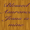 Blessed Asurance by Philip McDonald