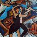 Bleu Danse by Valerie Vescovi