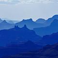 Bleu Grand Canyon by Franco Valentini