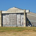 Blimp Hanger From Closed El Toro Marine Corps Air Station by Linda Brody