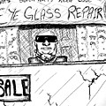 Blind Eye Glass Repair by Jera Sky