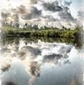Blind Pass Bayou Sanibel Island Florida by Edward Fielding