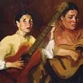 Blind Singers 1912 by Henri Robert