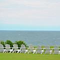 Block Island Hotel Ocean View by Charles Willis