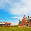 Block Island Southeast Lighthouse Rhode Island by Lourry Legarde