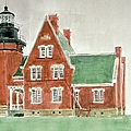 Block Island Southeast Lighthouse by Robert Bowden