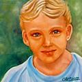 Blonde Boy by Carol Allen Anfinsen