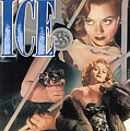 Blonde Ice Film Noir by R Muirhead Art