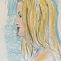 Blonde With Long Hair by Alejandro Lopez-Tasso