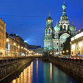 Blood Church In Saint Petersburg In White Nights by Ronny Urban