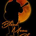 Blood Moon Blues T Shirt by WB Johnston