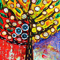 0 Blood Sky Tree Of Life by Sandra Silberzweig