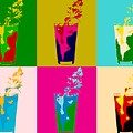 Bloody Mary Pop Art Panels by Dan Sproul