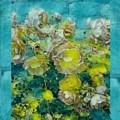 Bloom In Vintage Ornate Style by Pepita Selles