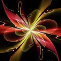 Bloom With Red by Deborah Benoit