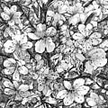 Blooming Apple Tree by Alexander Potekhin