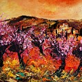 Blooming Cherry Trees by Pol Ledent