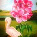 Blooming  by Gloria M Apfel