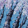 Blooming Trees by Maxim Komissarchik