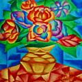 Blooms In Blue by Matthew Doronila