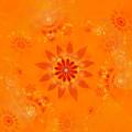 Blossom In Orange by Richard Ortolano