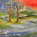 Blossom Trees by Evelina Popilian
