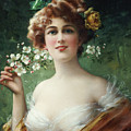 Blossoming Beauty by Emile Vernon