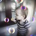 Blowing Bubbles by Beth Williams