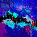 Blue Abstract 55698 by Pol Ledent
