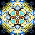 Blue And Green Stones 4 by Jesus Nicolas Castanon