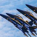 Blue Angels Ascending by Patrick Dablow
